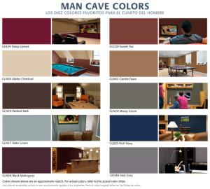Top 10 ManCave Colors BILINGUAL.indd