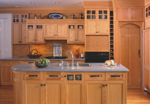 Kitchen Design And Arts and Crafts Style Kitchen Home Improvement