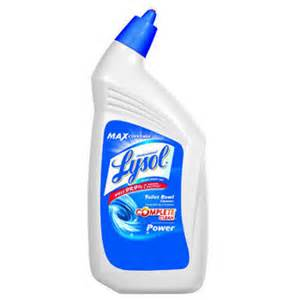 Lysol Toilet Bowl Cleaner Ingredients