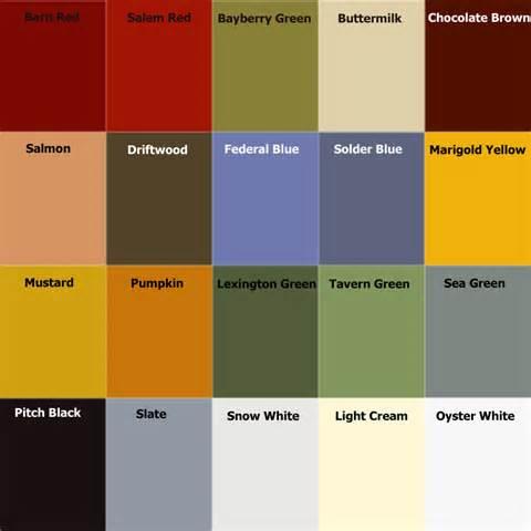 Milk Paint Color Chart Handy Home Design