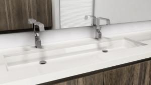 Undermount Trough Bathroom Sink Large Trough Style Sinks