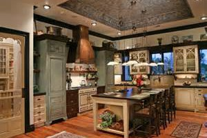 Victorian Kitchen Design Cabinets