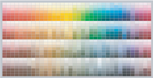Imron paint color chart to find the best color handy Color combinations painting