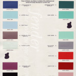 Candy Paint Color Chart