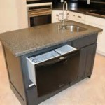 Kitchen Island Design with Dishwasher