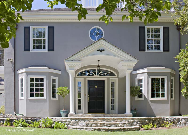 Benjamin moore exterior paint handy home design for Benjamin moore exterior house paint