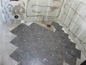 Laying Bathroom Floor Tile