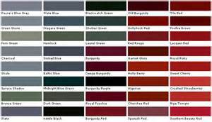 Valspar Exterior Paint Colors