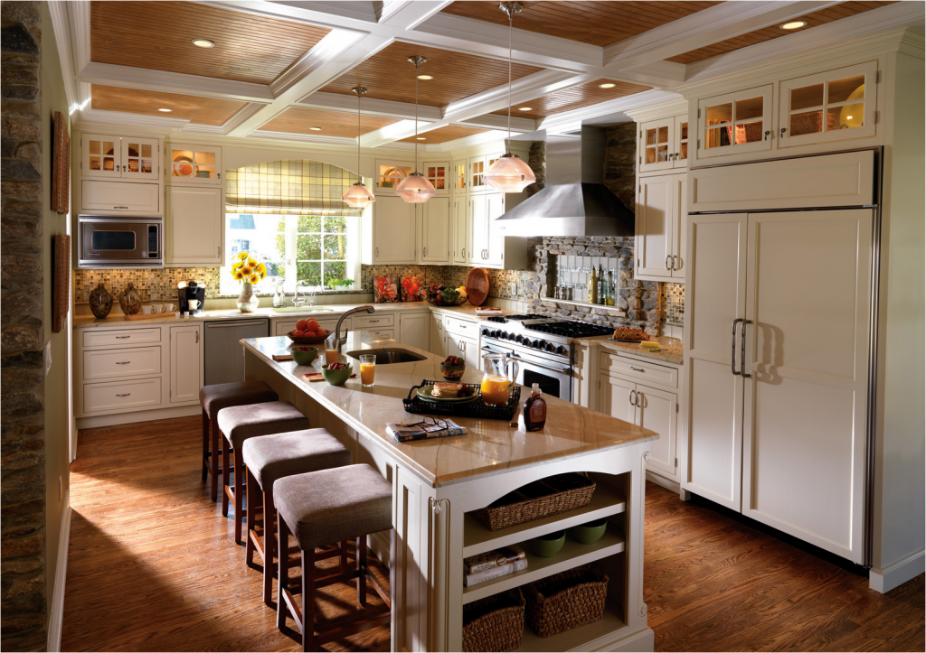 Kitchen Design and Arts and Crafts Style : Handy Home Design