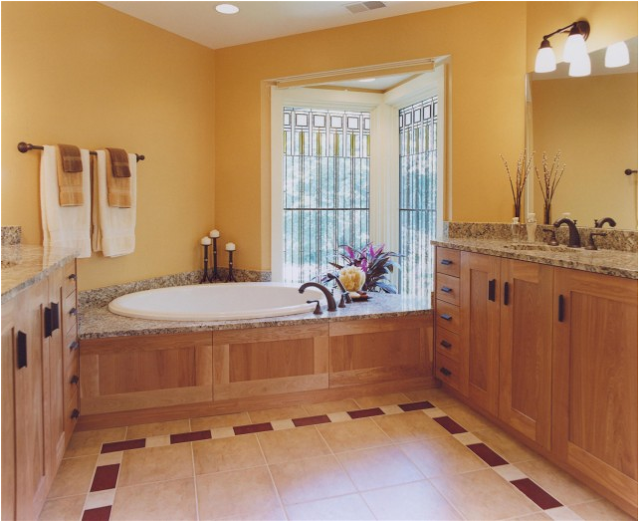 arts and crafts bathroom style handy home design
