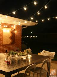 Outdoor String Lighting Home Depot