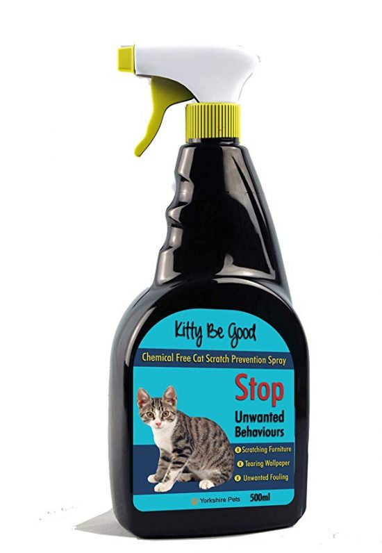 Need a good spray to prevent cat from scratching furniture